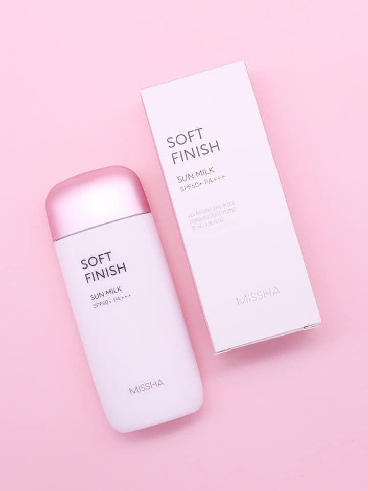 Kem chống nắng Missha All Around Safe Block Soft Finish Sun Milk 70ml
